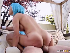 costume play beef whistle luving milf Cherie Deville plowed hard in the booty