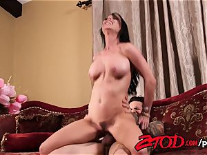 Brandy Aniston tries out her daughters beau