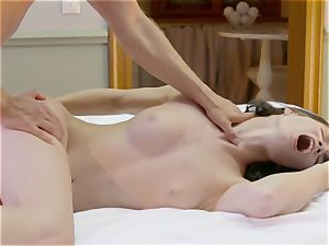 sensual orgy with Lovenia Lux