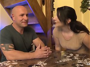 LA new-cummer - super hot anal invasion nail with stellar French fledgling