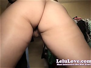 first-timer woman caught unwrapping in closet upskirt pussy