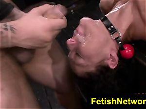 FetishNetwork Fiona Rivers anal fuckfest bdsm