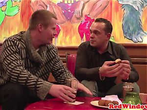 big-chested dutch hooker gets pussynailed