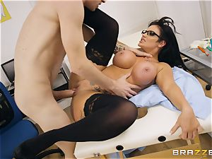 Candy Sexton deep throating on Danny D