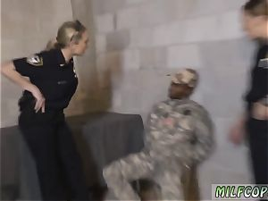 dolls way milf and peaches faux Soldier Gets Used as a plumb plaything