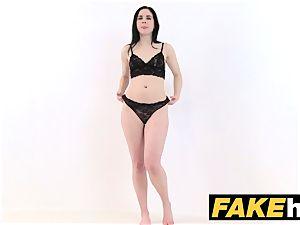 faux Agent sizzling lean lingerie model ravaged