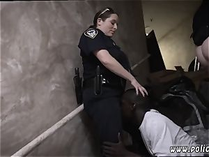 white femmes tonguing backdoor and pulverizing Street Racers get more than they bargained for