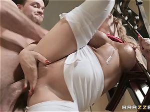 Cherie Deville railing on a gigantic dick