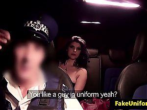 brit cockslut banged by cop