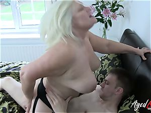 AgedLovE hard-core with super-steamy Mature Lacey Starr