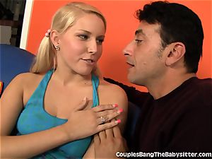 super-steamy duo pleasures The baby sitter