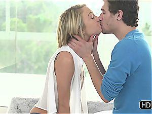 jaw-dropping Dakota Skye humps her stud romantically