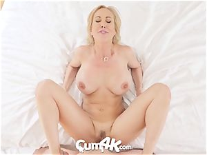 CUM4K best internal cumshot boink with Brandi love