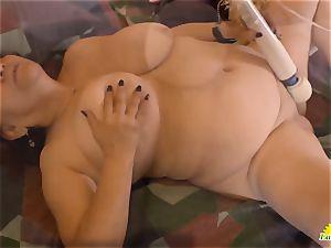 LatinChili seductive Adult toy Solo getting off