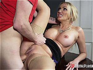 warm mummy drilled by the janitor