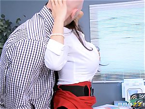 Reena Sky screws her ginormous dicked partner