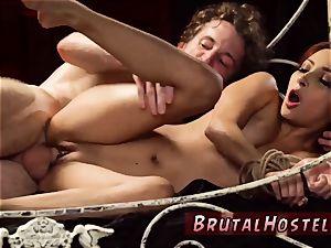 bondage & discipline tied up and flogged backside poor lil' Jade Jantzen, she just dreamed to have a joy