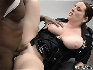 cougar entices hd gonzo cougar Cops