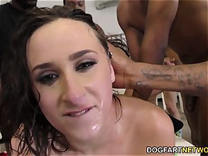 Ashley Adams Gets Her Face cruelly pummeled by BBCs