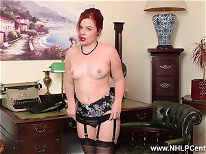 redhead is antique nylon fetish tart at masturbate Off Club