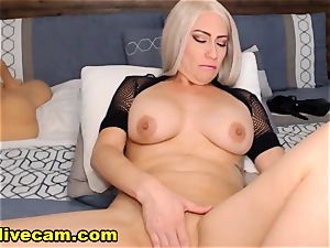 super-fucking-hot milf Doing nasty On webcam
