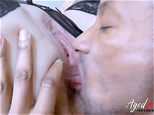 AgedLovE Lacey Starr huge-titted towheaded Mature hardcore