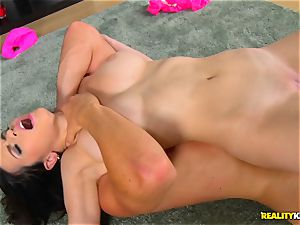 Nekane smashed in her vag whist toying games