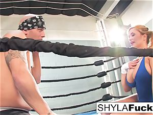 sumptuous Shyla gets some teaching