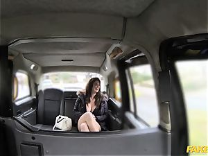 faux taxi big melons and beautiful eyes takes man rod