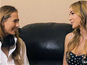 Carter Cruise and Blair Williams love each others steamy twats
