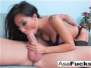 Asa Gets porked rock hard