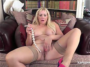 big jugged cougar plaything masturbation