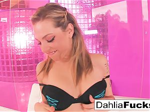 Dahlia Sky plays with a fuckfest plaything
