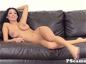 big-boobed web cam hotty Anissa Kate cockriding