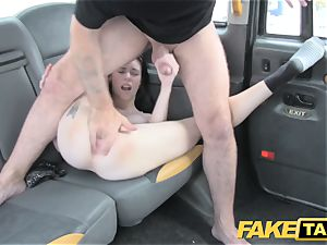 faux taxi harmless american dame gets bum poked