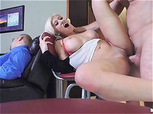 wild Cristi Ann poked deep in her fuckbox and her father is sleeping beside her
