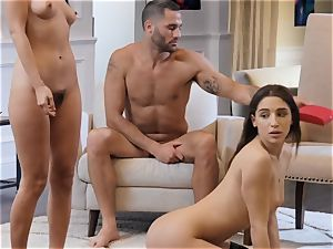 threesome with two fantastic hotties Marica and Abella