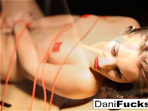 Dani Daniels Has A fun super-naughty Side As She Gets corded Up