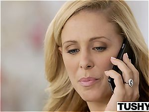 TUSHY first rectal For steamy wifey Cherie Deville