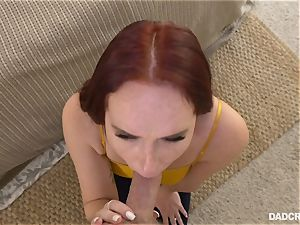 facial cumshot from stepdaddy with Alice Coxxx