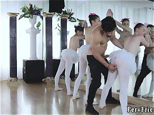 brit drill soiree and douche blow Ballerinas