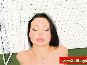 huge-boobed portuguese mega-slut boned in butt hole