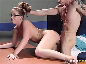 Nurse Maddy OReilly puts things right with a plowing