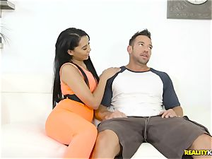 unexperienced pornography with expert fucker Johnny Castle and thick ass latina