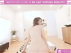 VR porno - JOSELINE KELLY MY SISTERS red-hot friend plow