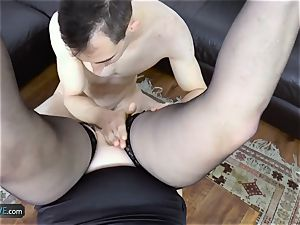 AgedLovE Lacey Starr humping Poolboy xxx