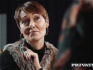 Private.com - Ella Hughes, jism in Her fur covered muff
