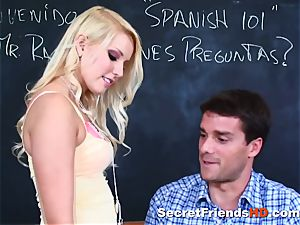 Vanessa cell Gets Ravished in the Classroom