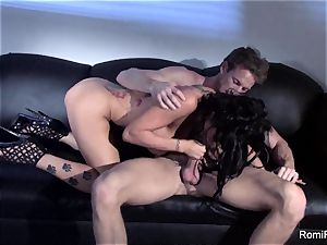 wonderful Romi Rain teases and then gets smashed firm
