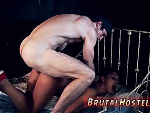 rough military fuck-a-thon and restrain bondage marionette toys poor lil' Latina nubile Gina Valentina is truly